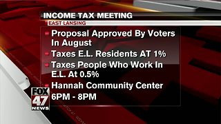 Income tax information meeting
