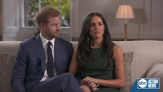 Prince Harry and Meghan Markle talk about their new engagement - Video