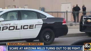 Fights lead to chaos at several U.S. malls, including Arizona Mills in Tempe - Video