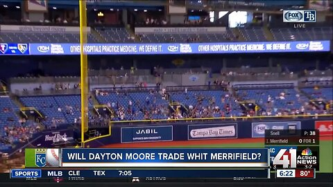 Will Dayton Moore trade Whit Merrifield?