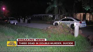Sarasota County detectives investigating after man allegedly murders two, kills himself in Nokomis - Video