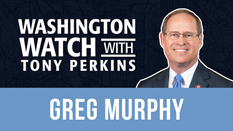 Rep. Greg Murphy Suggests Sending the Guard from D.C. to the Border, Where the Real Threat Is