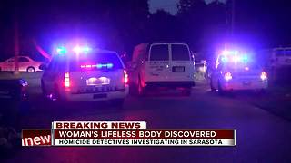 Police investigating homicide in Sarasota - Video