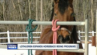 Lothlorien expands horseback riding programs