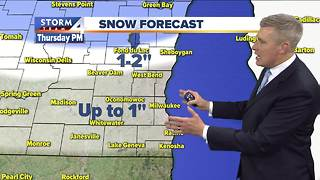Rain/snow mix possible Thursday - Video