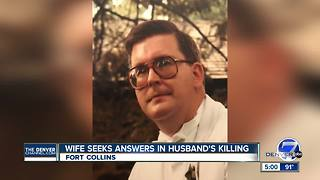 Wife of man found dead in Fort Collins apartment wants killer brought to justice - Video