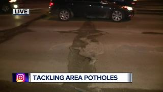 Best ways to deal with potholes in metro Detroit - Video