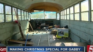 School Bus Turned Into Playground For Special Needs Student - Video