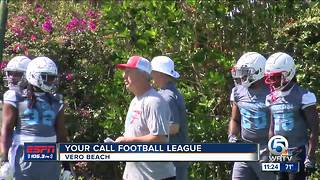 Your Call Football League takes over Vero Beach