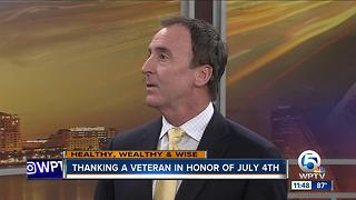 Thanking veterans on the Fourth of July - Video