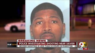 Police investigate second Monday shooting near Xavier - Video