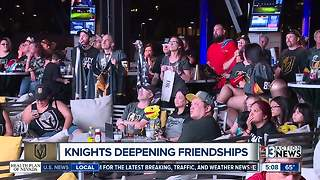 Fans gather for watch party at Topgolf - Video