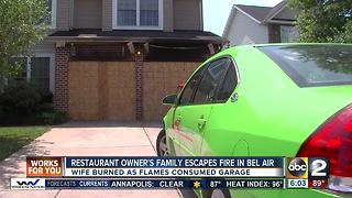 Dog saves restaurant owner's family from house fire in Bel Air - Video