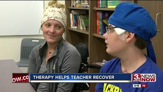 Therapy helps Fremont student, teacher recover - Video