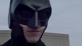 Student creates real life 'Batsuit' combat armor - Video