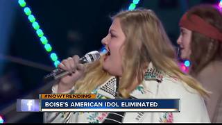Boise's own American Idol eliminated - Video