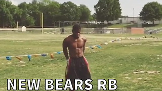 New Bears RB Makes Impossible Catch Look Easy - Video