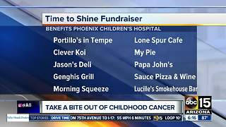 Valley restaurants donating to Phoenix Children's to battle childhood cancer in September - Video