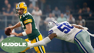 Did Aaron Rodgers Achieve GOAT Status vs Cowboys? -The Huddle - Video