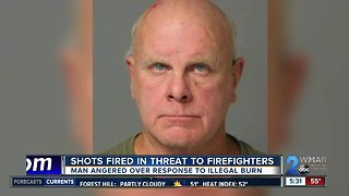 Man arrested after shooting at firefighters, 30+ firearms found in home