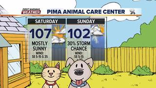 Chief Meteorologist Erin Christiansen's KGUN 9 Forecast Friday, July 7, 2017 - Video