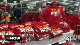 Stores ready to sell AFC Champs gear if Chiefs win