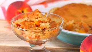 Peach Cobbler - Video