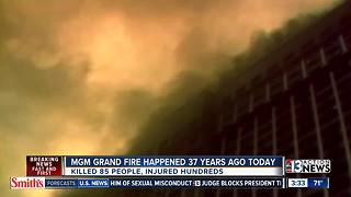 37 years since MGM fire - Video