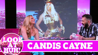 Candis Cayne LOOK AT HUH! On Season 2 of Hey Qween with Jonny McGovern - Video