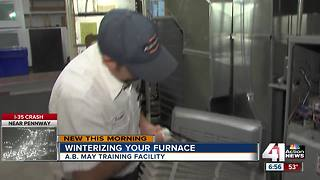 Preparing your furnace for winter - Video