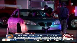Man shot during failed carjacking