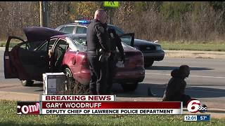 2 men arrested after chase, crash in Indianapolis suburb - Video