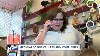 Growing 'Do Not Call' registry complaints - Video