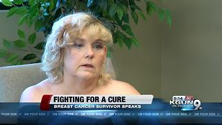 Brandi Edwards, breast cancer survivor - Video