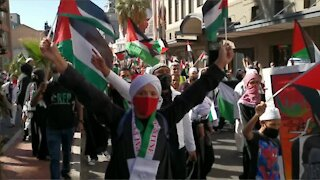 Cape Town march in support of Palestine