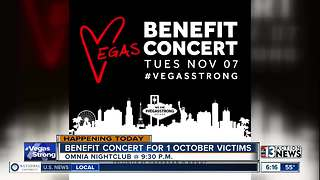 Benefit concert at OMNIA Nightclub - Video