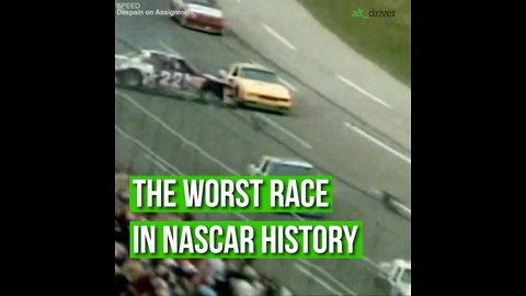 The Worst Race In Nascar History