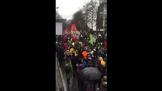 Thousands Take to the Streets in Brussels For Climate March - Video