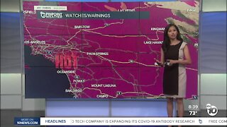 ABC 10News Pinpoint Weather for Sat. Sept. 5, 2020
