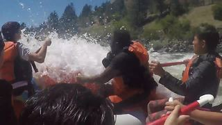 Caldwell kids experience the thrill of whitewater rafting down the Payette River - Video