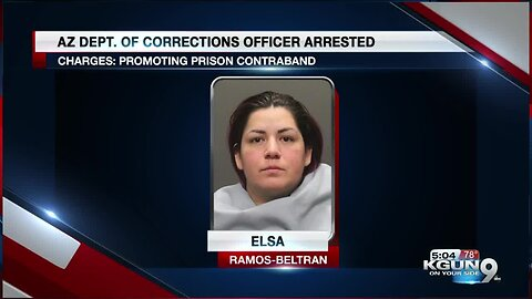 Arizona corrections officer arrested for promoting prison contraband