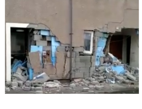 Investigation Launched After Digger Crashes Into Supported Housing Complex in Scotland