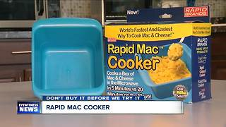 Don't Buy It Before We Try It: Rapid Mac Cooker - Video