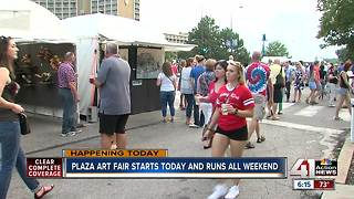 Plaza Art Fair welcomes thousands to Country Club Plaza - Video
