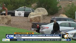 Security stepped up at Poway school after