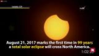 Total solar eclipse 2017 | Rare News - Video