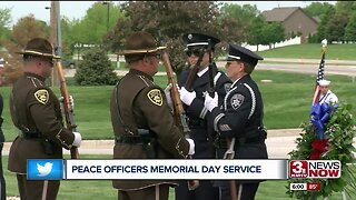 Peace Officers Memorial Day Service