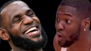 """LeBron James Responds To IG Comedian Mocking His """"Reaction"""" To Harden, Nets Trade"""