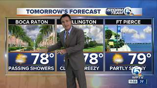 Sunday night weathercast - Video