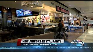 Tucson Airport opens four new restaurants - Video